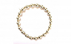 BASIC SILVER-GOLD MIX 6MM-3MM