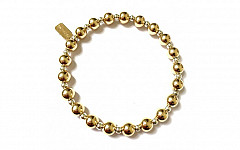 BASIC GOLD-SILVER MIX 6MM-3MM