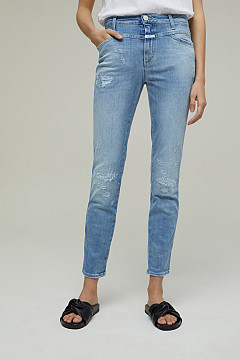 JEANS SKINNY PUSHER DAMAGED