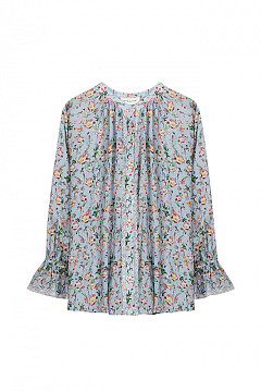 BLOUSE IVEY FRENCH ROSE