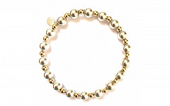 BASIC SILVER-GOLD MIX 7MM-4MM