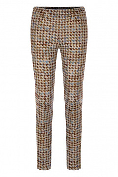 PENNY HOUNDSTOOTH CHECK BROWN