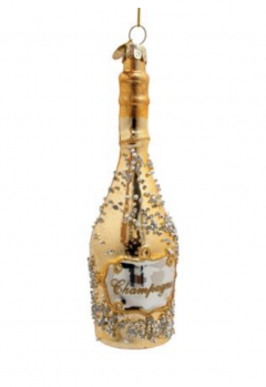 KERSTHANGER CHAMPAGNE GOUD