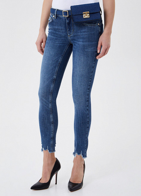 B. UP JEANS IDEAL DAMAGED